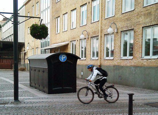 Molndal nere cykel